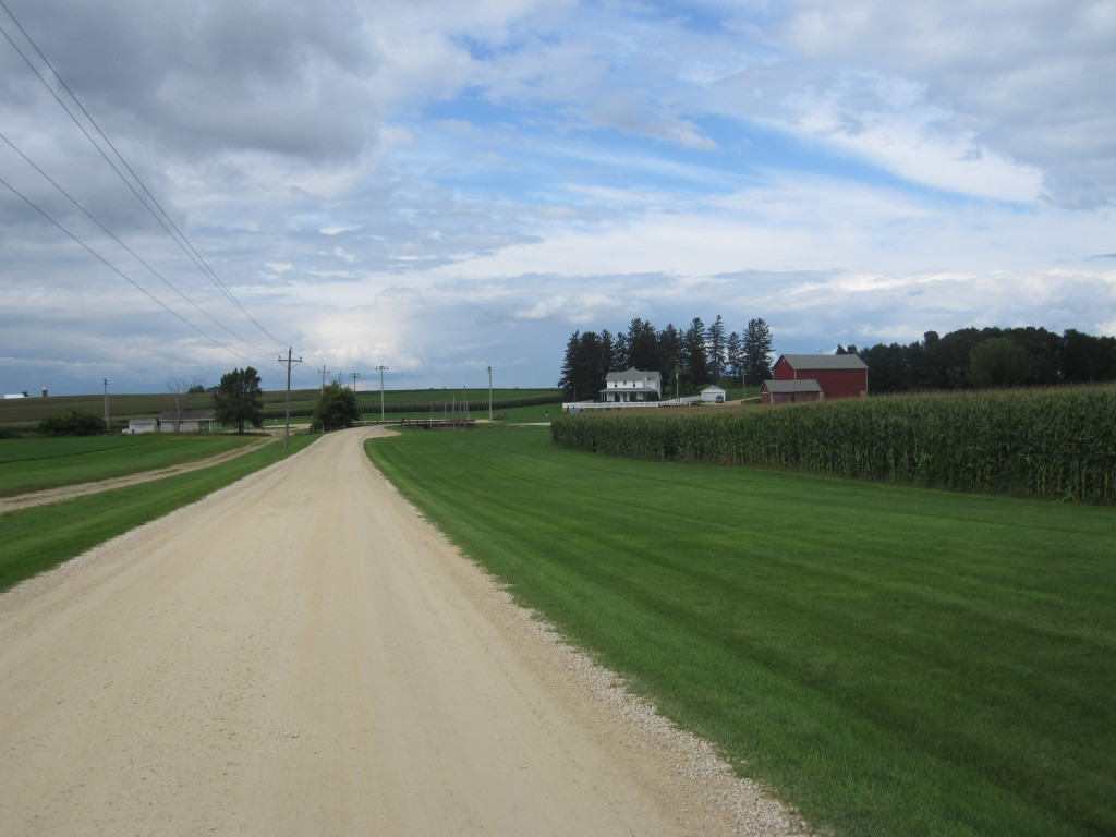 Field of Dreams road